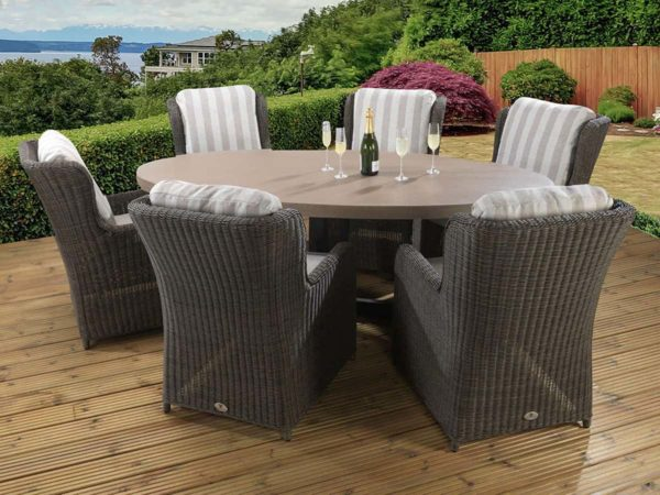 6-Seat-Florence-Tan-with-Clinton-Brown-Chairs_11823