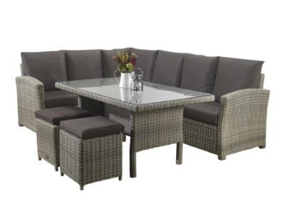 1-Hampton-Grey-dining-lounge-set-glass-table-Dallas-1