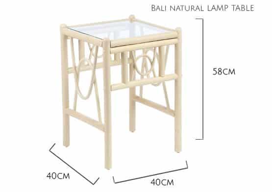 Lamp-Table-Dimension
