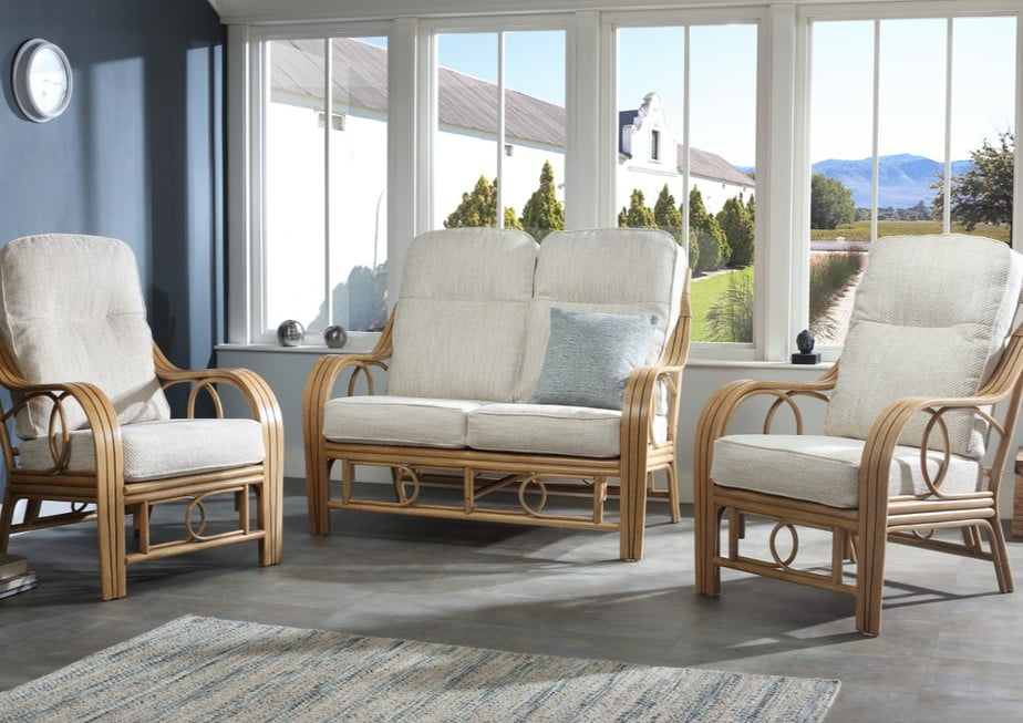 MADRID Light Oak Cane Range