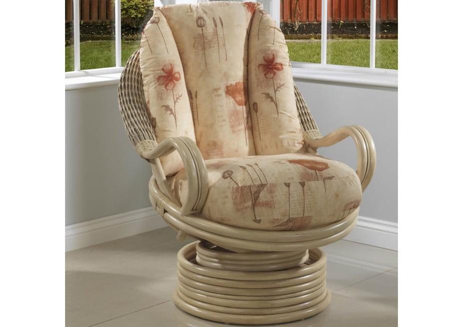 Morley Swivel Rocker Chair