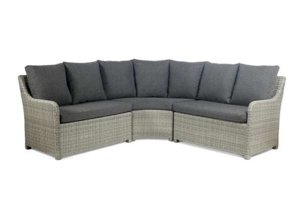 atlanta grey corner sofa