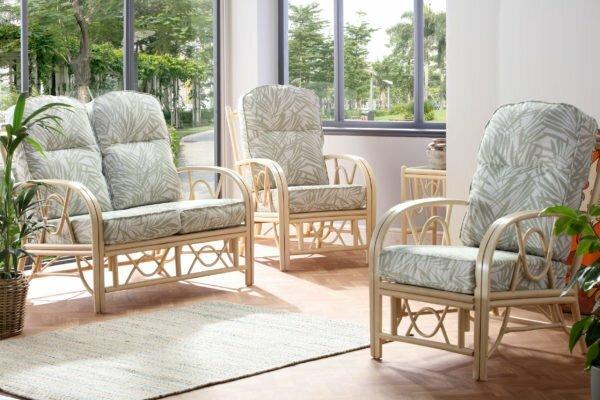 bali 2seater chair tropical set