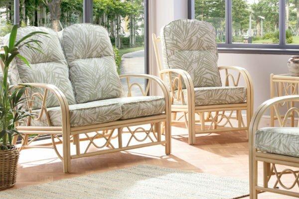 bali 2seater sofa tropical set
