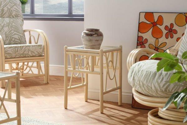 bali lamp table tropical set