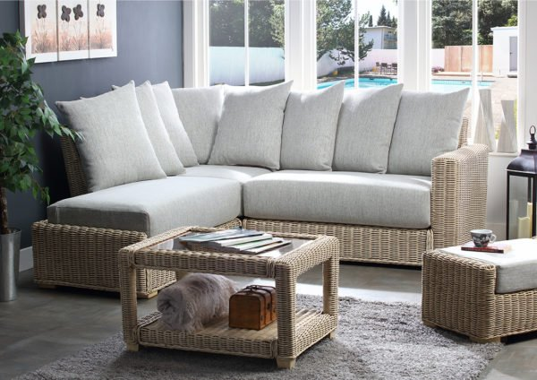 Burford Pebble Fabric Corner Sofa Final Web