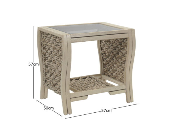 Milan Lamp Table Dimensions