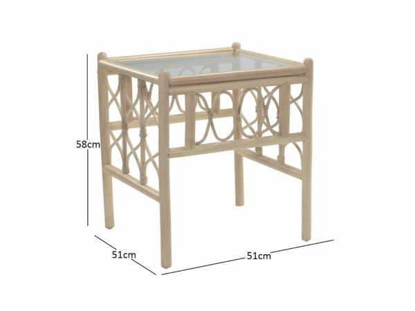 Morley Lamp Table Dimensions