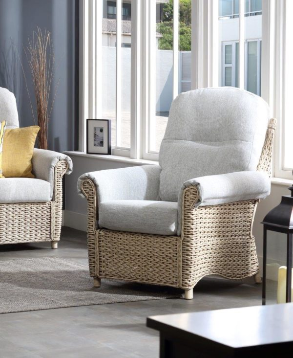 15 harlow pebble fabric chair. lifestyle