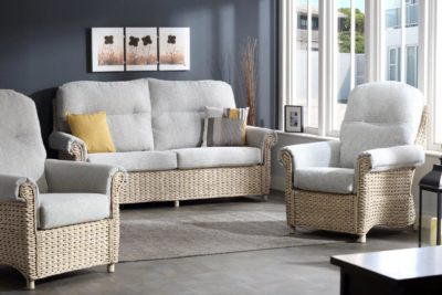 8 harlow pebble fabric 3 seater 3pc set lifestyle