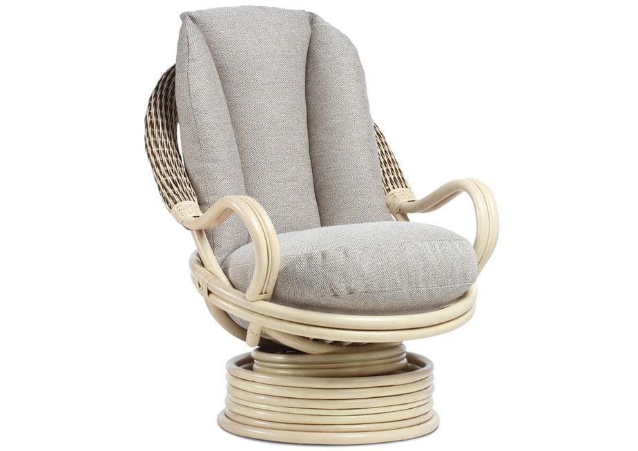 CORSICA Deluxe swivel rocker chair