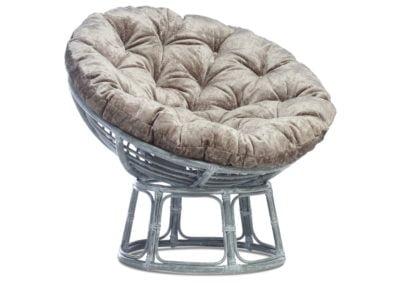 Grey-Papasan-Chair-in-silver-Velour