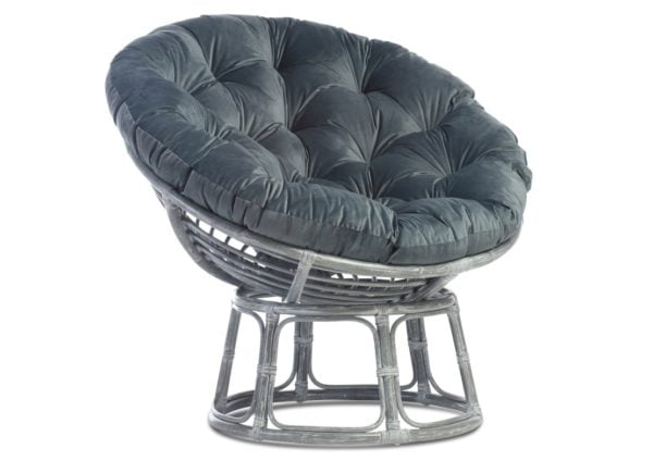 Grey-Papasan-chair-in-Velvet-Blue