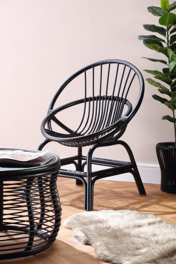 Moon-Chair-Black-Set