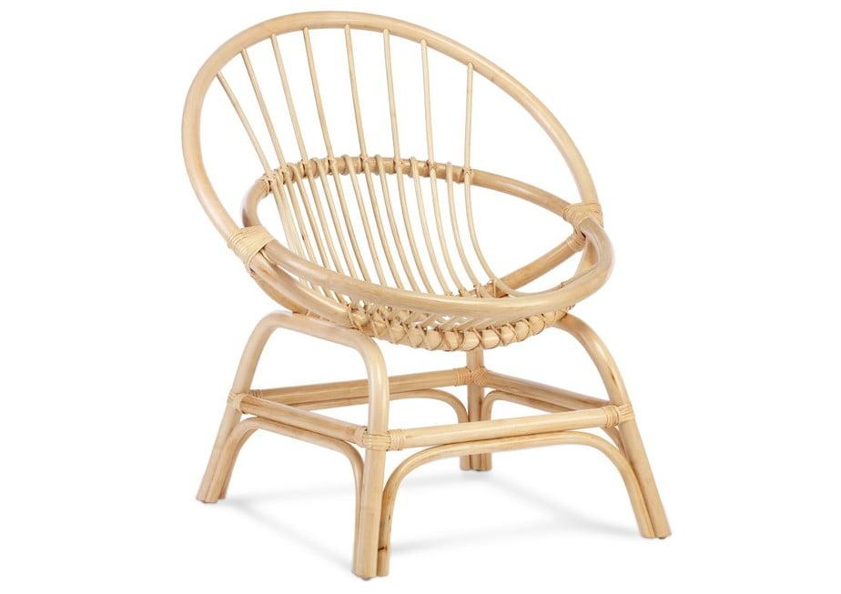 Moon Chair Natural rattan