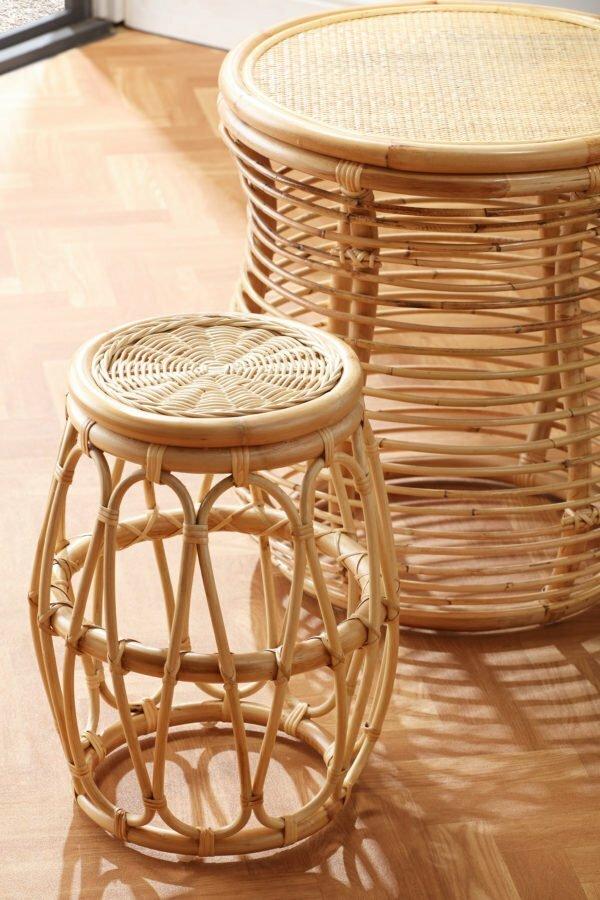 natural footstools
