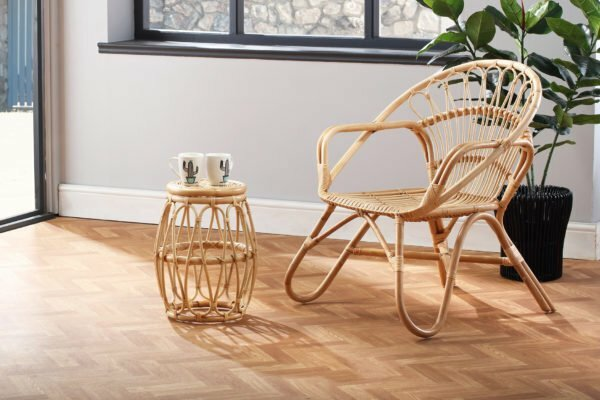 natural nordic chair and beijing lamp table lifestyle