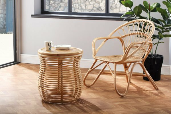 natural nordic chair and royal lamp table lifestyle