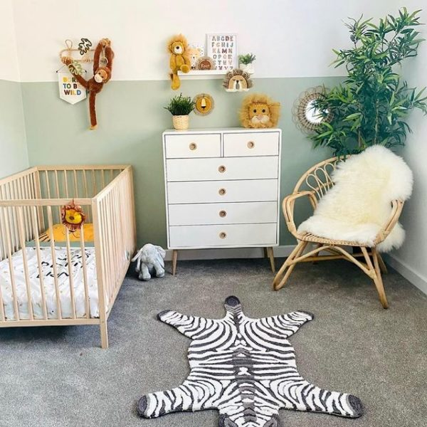 natural nordic chair in nursery