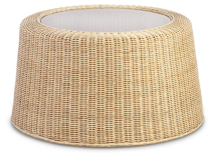 Natural Rattan woven wicker Coffee Table