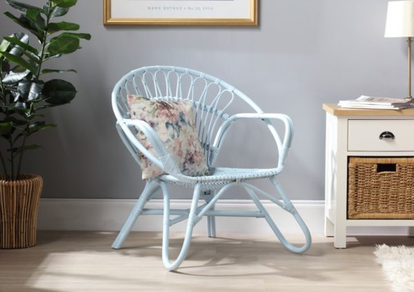 Nordic-Blue-Rattan-Chair