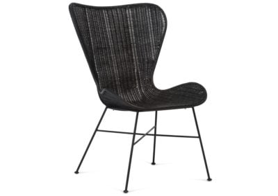 Porto-rattan-wing-chair-black