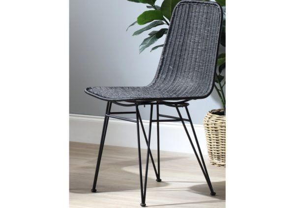 Porto-wicker-dining-chairs-Black