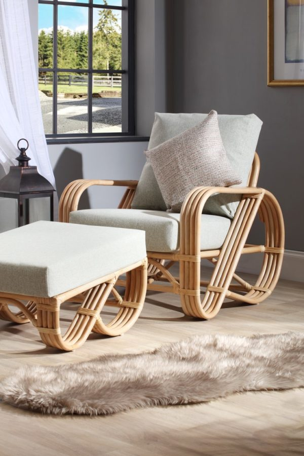 Pretzel-chair-stool-set