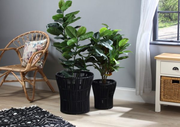S-2-BLACK-RATTAN-PLANT-BASKETS