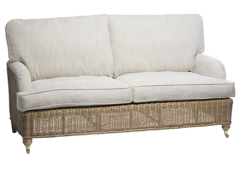 SEVILLE conservatory 3 Seater sofa in Jasper