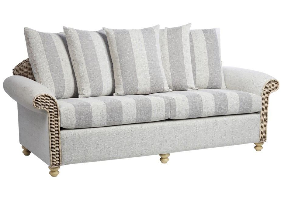 STAMFORD 3 seater conservatory scatter sofa