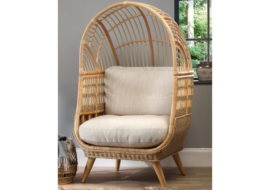 Wicker Cocoon Hanging Chair