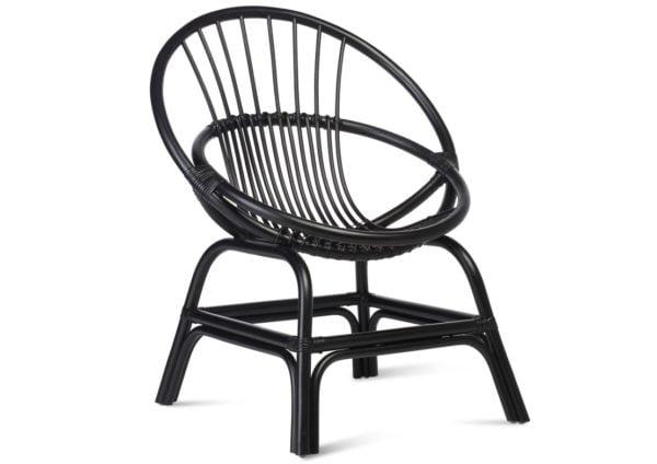 Wicker-Moon-Chair-Black-1