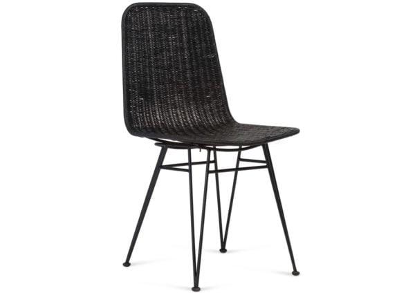 Wicker-Porto-Dining-Chair-Black