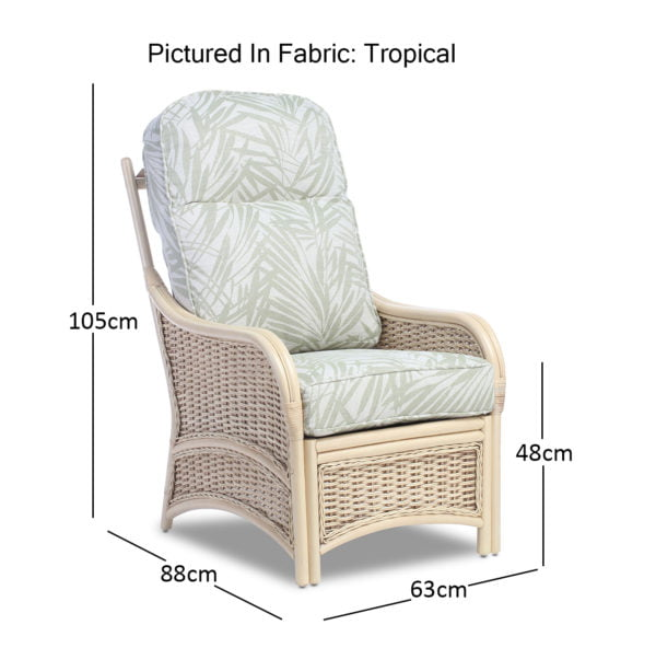 Chelsea Chair In Tropical Dimensions