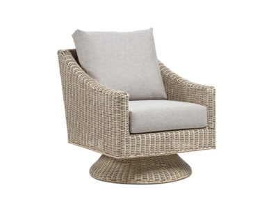 Corsica Natural Wash Texture Beige Djon Swivel Chair 2 Web