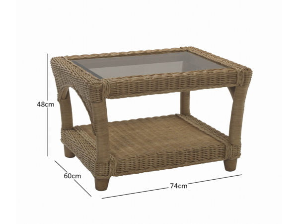 Seville Coffee Table 11472 Dimensions