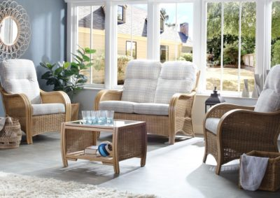TURIN-LIGHT-OAK-ATHENA-CHECK-2SEATER-3PC-SET