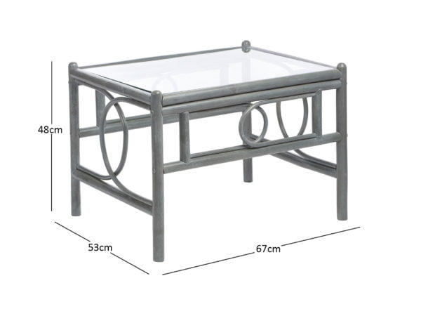 Madrid Grey Coffee Table Dimensions