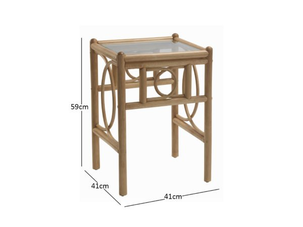 Madrid Lamp Table Dimensions