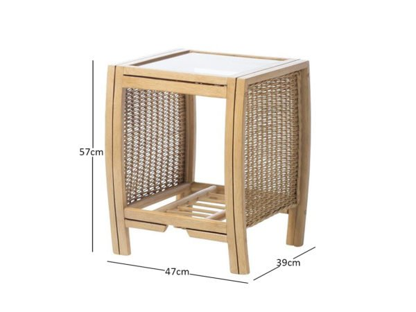Turin Lamp Table Dimensions