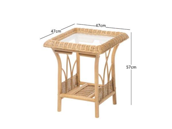 Viola 1 Lamp Table Dimensions