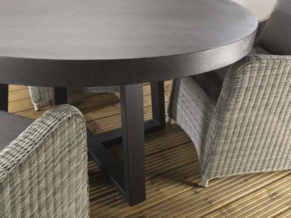 Amalfi Slate Dining Set Detail