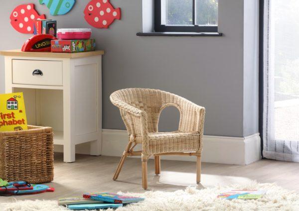 Kids Chair Natural Set Web