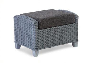 Dijon Footstool Grey