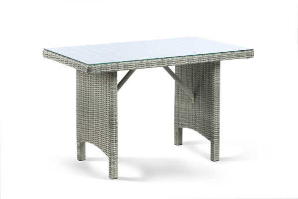 georgia grey glass table cutout