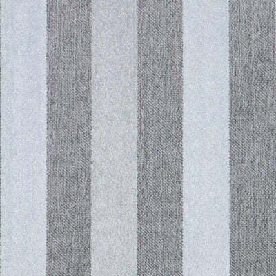 Duke grey stripe fabric