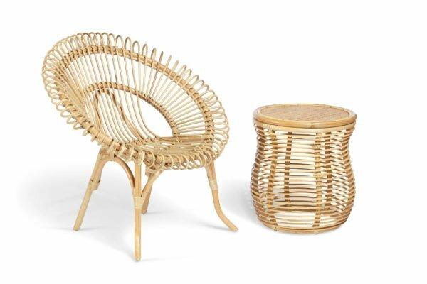 natural shanghai chair and royal lamp table